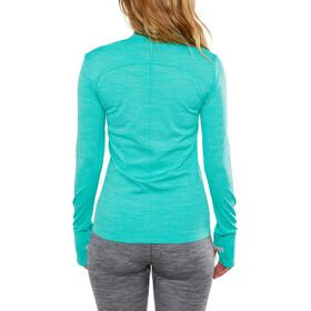 Craft Fuseknit Comfort T-shirt zippé Femme, paradise melange